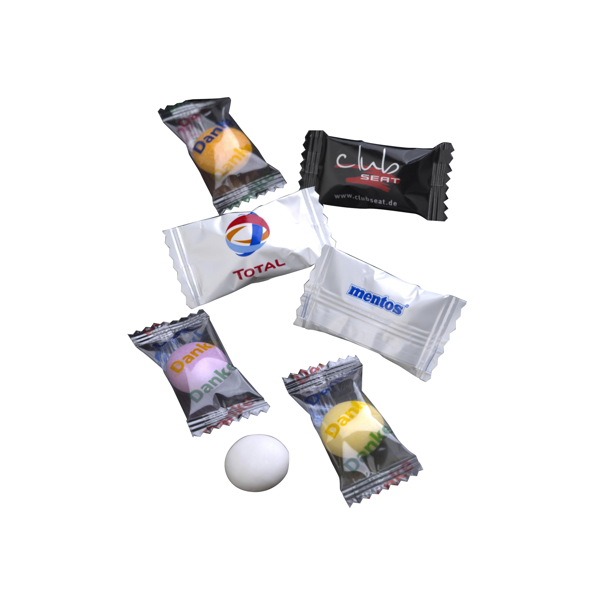 76 sweets Flowpack mentos