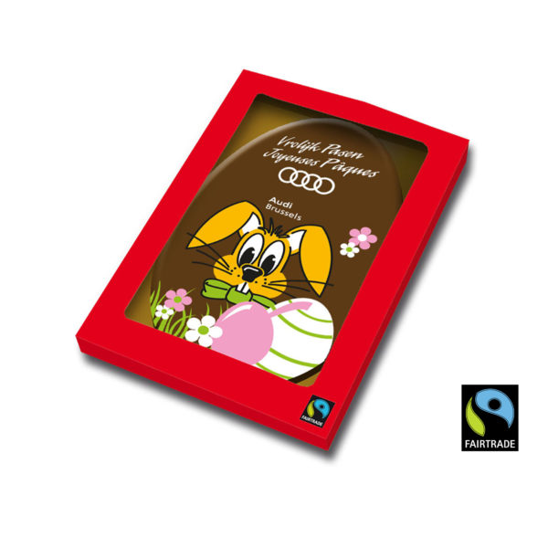 Easter Chocolate Card fairtrade