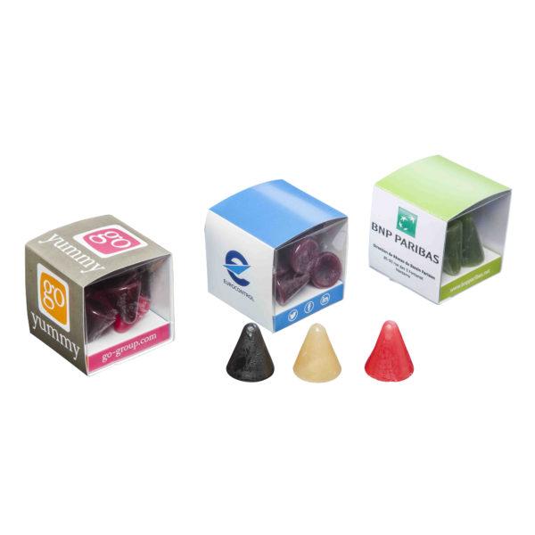cuberdons box
