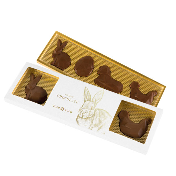 easter farm belgian chocolate