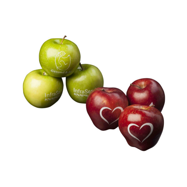 Red or Green Apple with your logo
