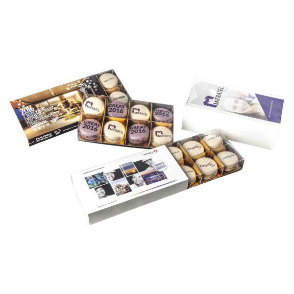 Box 8-16 Macarons Sleeve