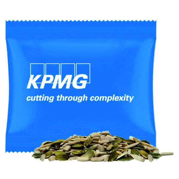 Midi bag with organic pumpkin seeds and sunflower seeds, ca. 7g